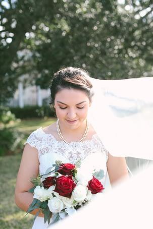 Sarah Wiese, wedding day